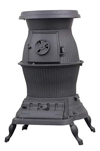 US Stove 1869 Railroad Potbelly Coal Stove