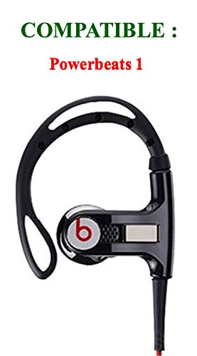 22 pcs. Beats Powerbeats 2 and Powerbeats 3 Replacement Earbuds Eargels Eartips Cushions Black, Black/RED 6S/6M/6L/4Cones and 1 Protective Carrying Hard Case by General 7