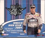 2004 Wheels High Gear Racing Retail Pack (4 Cards/Pack) - NASCAR Trading Cards!
