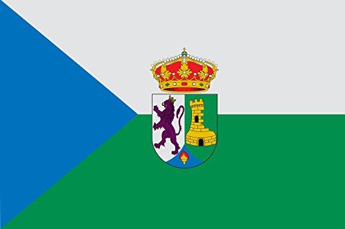 magFlags Bandera Large El municipio de Torrejoncillo | Bandera Paisaje | 1.35m² | 90x150cm
