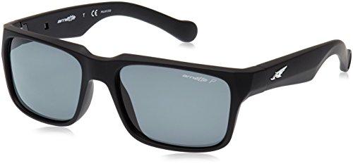 Arnette D STREET 447/81 55 gafas de sol, Negro difuminado, Unisex-Adulto