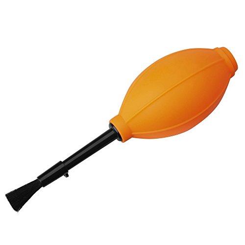 Hakuba onderhoud benodigdheden silicium blazer borstel oranje KMC-60OR