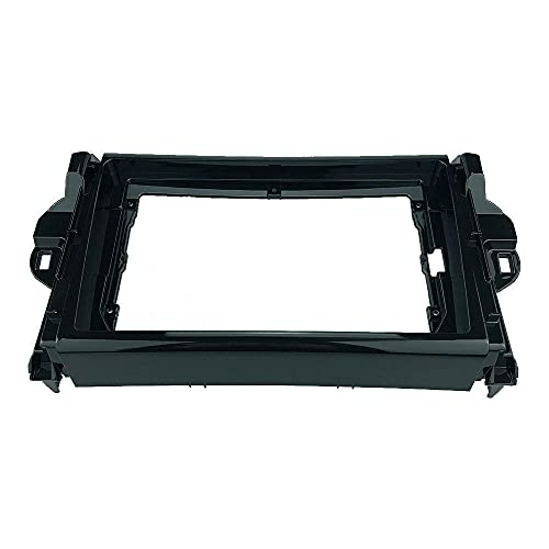 2 DIN 9 Pulgadas Radio de Coche Fascia Panel Apto para Toyota Fortuner 2015-2018 Stereo Dash CD Frame Trim Kit de instalación