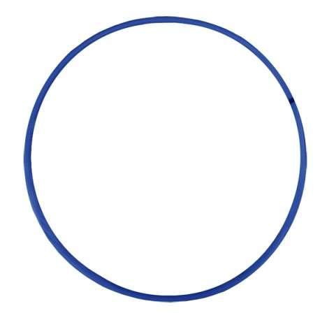 Softee Equipment Hula Hoop - DIAMETRO 75CM - Color Azul