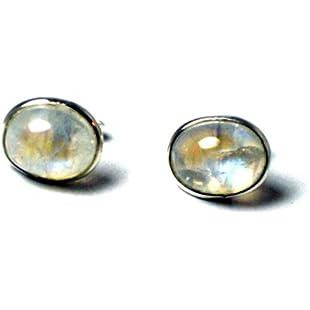Customer reviews Art Gecko MOONSTONE Oval Shaped Sterling Silver Gemstone Earrings/Studs 925-8 X 10 mm - (MS3005142):Donald-trump