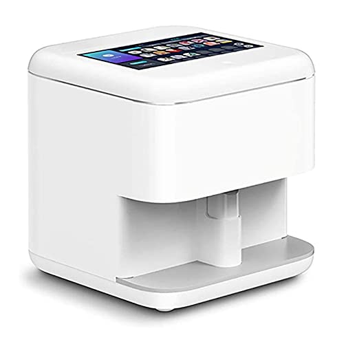 JLDG Intelligent Nail Painting Machine Smart 3D Art Nail Printer Support WiFi/DIY/USB Digital Nail Art Printer Machine Equipment