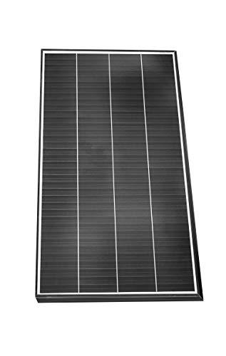 enjoysolar® Monokristallin Solarmodul Mono Solarpanel mit neuartiger Schindeltechnologie (150W)