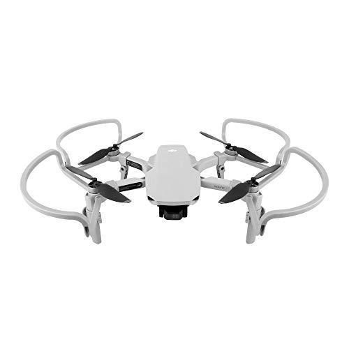 Linghuang Elica Guardie Anelli Protezioni Cerchio con Carrelli di Atterraggio per DJI Mavic Mini / Mini SE / Mini 2 Drone Accessori (Grigio)