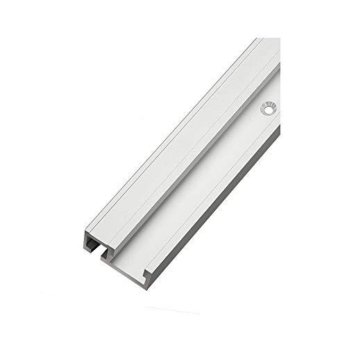 belupai 300mm aleación de aluminio 45 tipo T-Slot T-Track Mitre Track Jig Fixture Slot 45x12.8mm para mesa Sierra router herramienta de carpintería