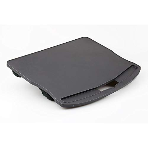 Laptop Lap Tray with Cushion Desk Lapdesk Cushdesk Cushioned Padded Rest Board for Bed Eating Kids Writing Car Seat
