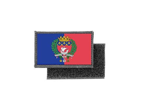 Aufnäher patch aufbügler gedruckt flagge fahne paris