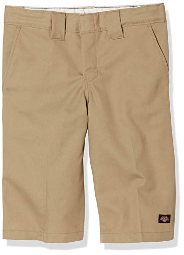 Dickies Big Boys' Flex Waist Short With Extra Pocket, Desert Sand, 20
