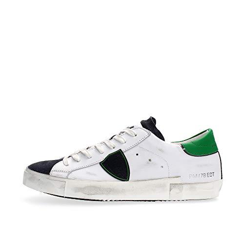 Philippe Model Herren prsx Sneaker Bianco 42 EU