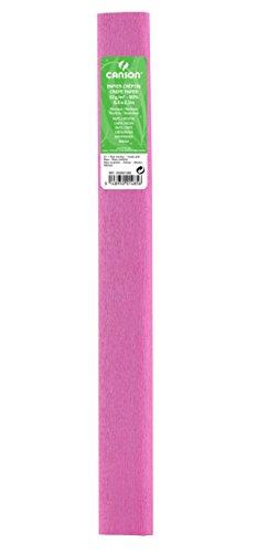Canson Pack de 10 Rolls Super Value Crepe Paper, 32 g/m² 50 x 250 cm de bebé rosados