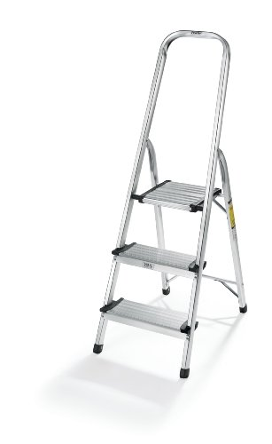Polder LDR-3500RM Ultralight 3-Step Stool, 52.5' Tall, 24.5' Top Step,...