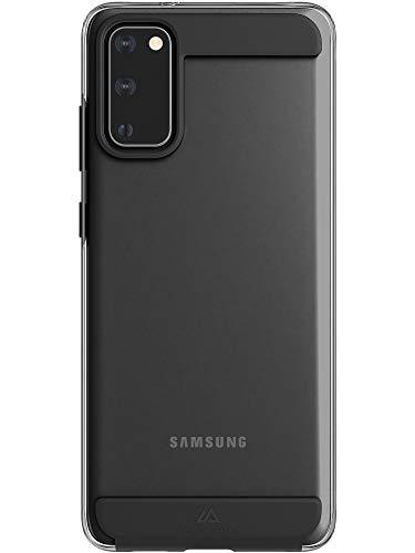 Black Rock - Hülle Handyhülle Air Robust Hülle Passend für Samsung Galaxy S20 I Schutzhülle Clear, Transparent, Durchsichtig Cover, TPU (Schwarz)