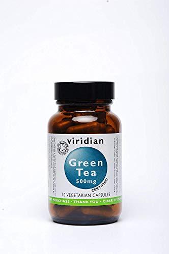 Viridian Green Tea Leaf 500mg (Organic) 90 Veg Caps
