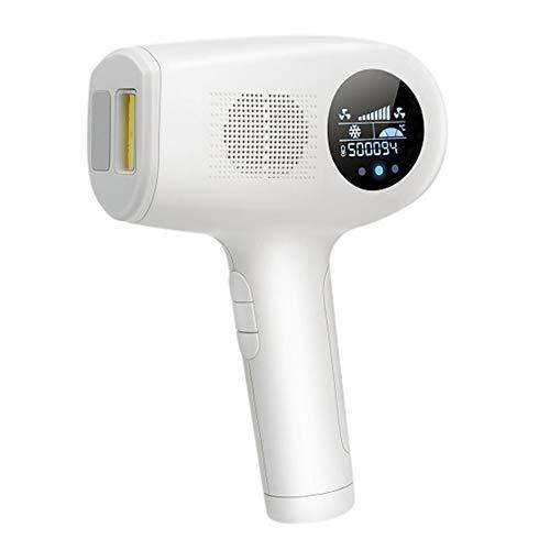 HUAXM IPL Haarentfernungsgerät für Frauen-Männer, Ice Cool Hair Removal System, Upgrade-EIS 1000000 Flashes Haarentferner mit Sorgfalt Kühl