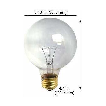 Case of 15 Incandescent Light Bulbs 25G121//2CL 130V Clear