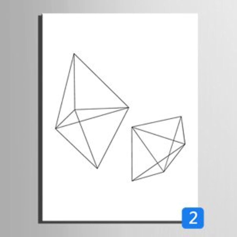 T&Q T&Qing Einzelne geometrische Linien dekorative Malerei, Rahmen Malerei, dekorative Malerei Das Wohnzimmer Restaurant, 40  60 B07KN2V3KF  | Feinbearbeitung