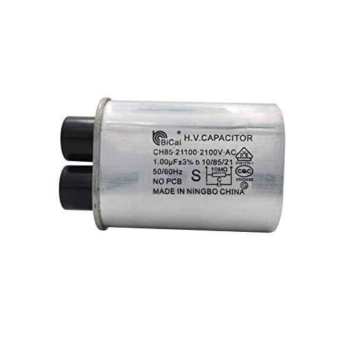 Medidor Star CQC Universal Hogar Microondas Alto Voltaje Condensador 1.00uf Ch85 21100 2100 V AC H.V.Condensador 10/85/21 50/60Hz NO PCB
