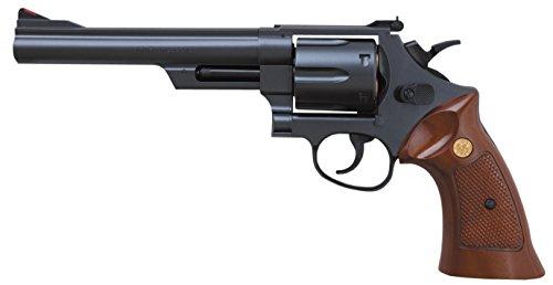 クラウンモデル ホップアップエアリボルバー No.2 S&W M29 6インチ ブラック 10歳以上エアーソフトガン