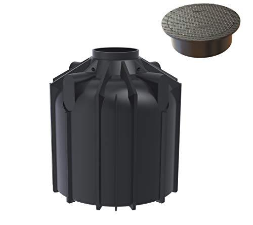 Rotationsvertrieb Gera GmbH & Co.KG Regenwasserzisterne 8300 Liter inklusive Anschlüsse und begehbarer Abdeckung