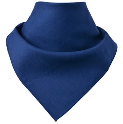 Tuch aus Baumwolle  Halstuch zur Mund und Nasenbedeckung   Face Shield   Blau