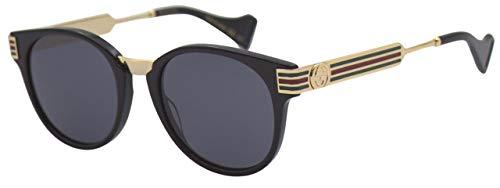 Gucci Unisex – Erwachsene GG0586S-001-50 Sonnenbrille, Schwarz, Einheitsgröße