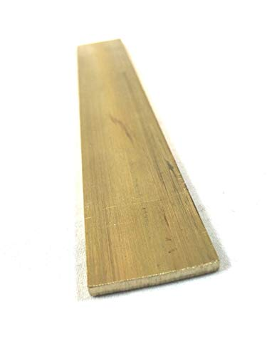 Brass Flat Rectangular Bar Stock 1/8