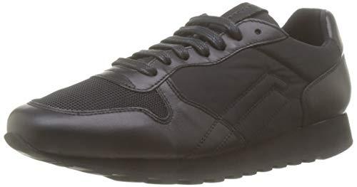 Frau Sneakers, Sneaker Uomo, Nero (Nero Nero), 40 EU