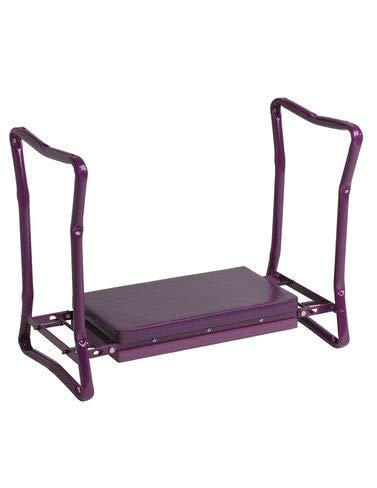 Gardener's Supply Company Extra Wide-Seat Folding Garden Kneeler Purple