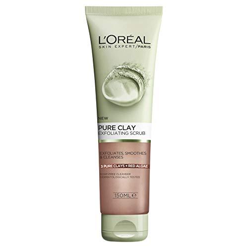 L'Oréal Paris Pure Clay Red Algae Exfoliating Scrub 50ml