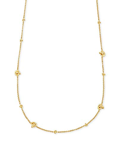 Kendra Scott Presleigh Strand Necklace in Gold Gold Metal
