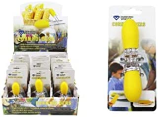 Diamond Visions 01-2061 Silicone Grip XL Corn Holders (2 PK, 4 Skewers all together)