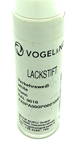 Vogel & Noot radiator pen in de kleur wit RAL 9016