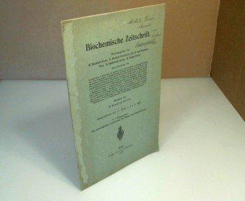 Die osmologische Auffassung der Hämo- und Bakteriolyse.