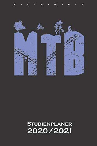 MTB Studienplaner 2020/21: Semesterplaner (Studentenkalender) für alle Liebhaber und Fans des Zweiradsports