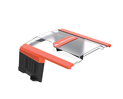 Yard Force AR SH01 Mähroboter-Garage SH01-für AMIRO, LUV, X Modelle Roboter-Rasenmäher zum Schutz vor Regen und Sonne, mit Stabiler Konstruktion, schwarz/orange - 3