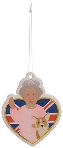 Royal Bloom Scented Queen & Corgi Air Freshener Wh