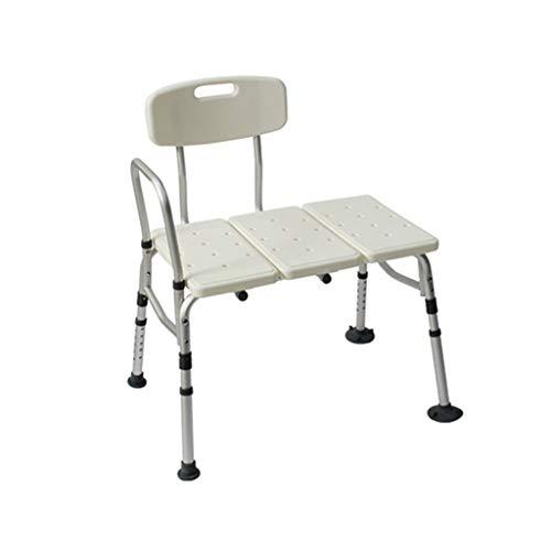 NEVY-duschhocker Ältere/Schwangere Frau/Behinderte Rutschfester Badstuhl/Hocker Duschstuhl, Traggewicht 180kg