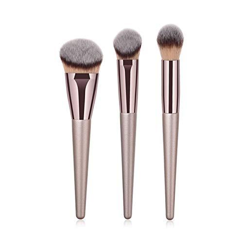 Xunsdzsw Pennelli Trucco Trucco Professionale cosmetico del Kit di Spazzola per ombretto Eyeshadow (Handle Color : 3pcs XB DXT Brush)