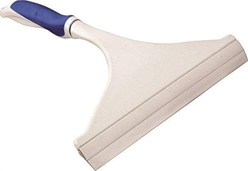 Rocky Mountain Goods Window Squeegee with Handle - Streak Free Professional High grade rubber squeegee edge - Ergonomic non slip handle - Lightweight