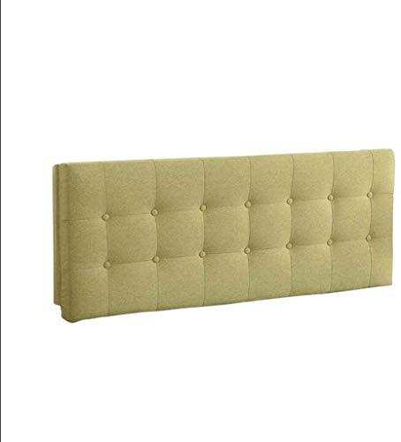 Sängkudde Soft Pack Gavel Bed Back Säng tatami matta Säng Kudde Cotton Löstagbar och tvättbar Double Long Pillow, 4 Färg och 6 Storlek tillval kudde (Color : D, Size : 160CM)