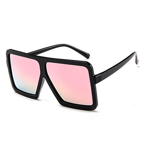 OHQ_Gafas De Sol Mujer Hombre Gafas Retro Vintage Unisex Gafas Grandes DiseñO De Moda