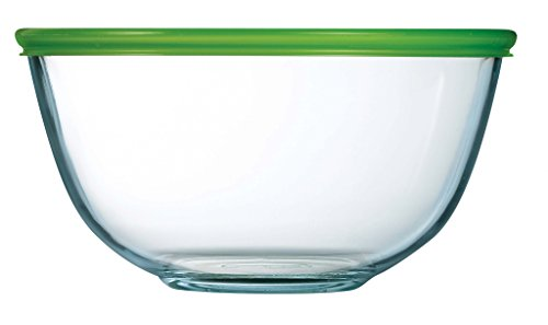 Pyrex Prepware Bowl With Green Lid 2.0l (305419)