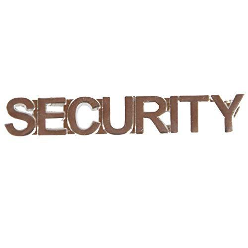 Pin Security oder Sicherheitsdienst Anstecker Abzeichen aus Metall Security