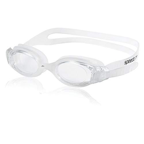 Speedo Unisex-Adult Swim Goggles Hydrosity Clear, One Size