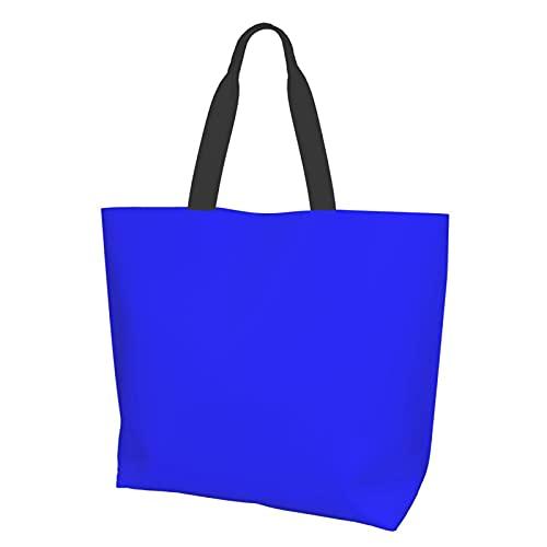 Bolso de hombro azul brillante eléctrico azul neón azul azul azul azul...