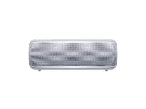 Sony SRS-XB22 Portable Bluetooth Speaker: Compact Wireless Party Speaker with Flashing Line Light - Waterproof and Shockproof Loud Audio for Phone Calls Bluetooth Speakers - Gray - SRS-XB22/H
